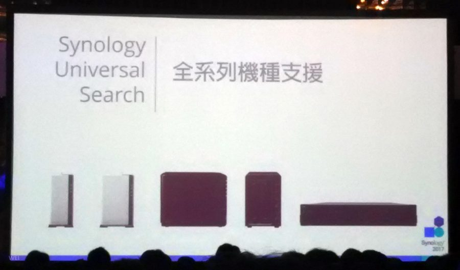 Synology Universal Searche 是全機種都支援喔,不用在流口水用不到了。